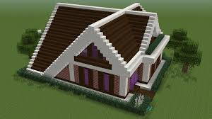 minecraft how to build a very simple a frame house youtube minecraft how to build a very simple a frame house
