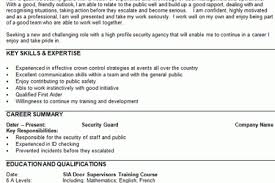 Resume Security Clearance Example by Resume Security Clearance Infografika Nightclub Security Resume