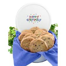 where to buy cookie tins happy birthday cookie tin all about gifts baskets