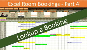 room booking system vba code u2013 part 3 online pc learning