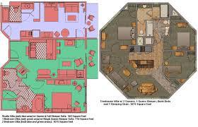 Treehouse Villas Floor Plan Saratoga Springs Treehouse Villa Floor Plan