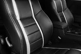 Black Upholstery Leather Katzkin Custom Design Leather Upholstery Interior Kit