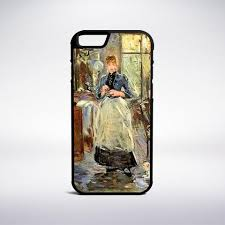 Berthe Morisot  Muse Phone Cases - Berthe morisot in the dining room
