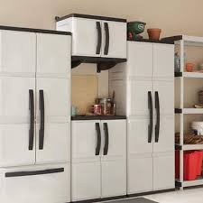 kitchen storage cabinets home depot how to install hdx plastic cabinets and shelves plastic