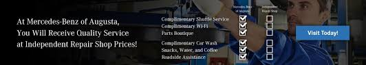 mercedes service prices auto service near martinez aiken mercedes of augusta