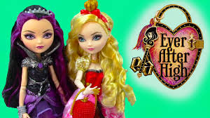 after high dolls names after high apple white fairytale dolls unboxing