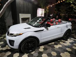 land rover convertible 4 door l a auto show land rover unveils evoque soft top toronto star