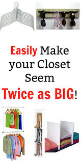 9 clever ways to make your closet feel twice as big small closet