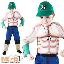 John Cena Halloween Costume Deluxe Wwe John Cena Boys Fancy Dress Wrestling Sports Kids