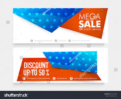 National Flags For Sale American National Flag Colors Website Header Stock Vector
