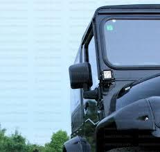 mahindra thar modified to wrangler wrangler rear view mirror