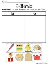 96 best blends images on pinterest consonant blends worksheets
