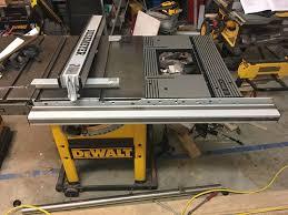 dewalt table saw dw746 dewalt 746 restoration 8 finishing touches by ihadmail
