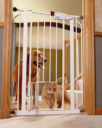 Extra Wide Pressure Mounted Baby Gate Guide To The Best Dog Gates For 2017 U2013 Woof And Whiskers