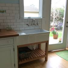 Free Standing Sink Kitchen Scandanavian Kitchen Standing Kitchen Sink Farmhouse Sinks