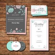 template undangan keren undangan pernikahan warna abu tua biru muda dengan aksen pink dan