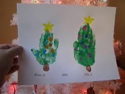 hand print christmas cards christmas lights decoration