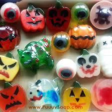 puuuvsoap real natural handmade soap halloween soap 万圣节创意皂