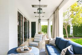 outdoor curtains transitional deck patio wayne windham architect