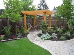 Easy Backyard Landscaping Ideas Backyard Landscape Ideas For Your House Homeremodelingideas Net