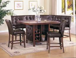 kitchen table modern kitchen modern oak wood corner kitchen table and chairs