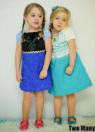 two many frozen inspired everyday dresses