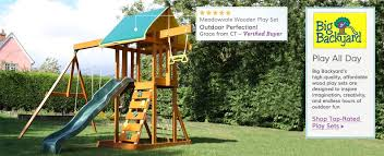Big Backyard Swing Set Big Backyard Wayfair