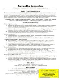 targeted resume resume templates