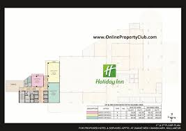 omaxe office space in hotel holiday inn mullanpur real estate