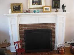 home decor white brick fireplace mantel fireplace mantels ideas