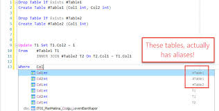 T Sql Drop Table If Exists Update Statement Column Predictions Are Wrong U2014 Redgate Forums