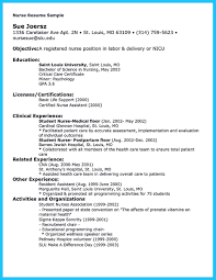Nursing Jobs Resume Format by Nicu Nurse Job Description Resume Free Resume Example And
