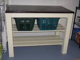 diy laundry folding table ana white laundry area table diy projects
