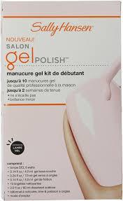amazon com sally hansen salon pro gel starter kit shell we dance