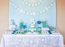 interior design new boy themed baby shower decorations room