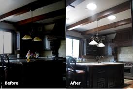 Solar Tube Lights by Kitchen Before And After Sun Glo Tubular Skylights Pinterest