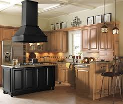 Oak Cabinets In Kitchen by Entry Cabinets Schrock Cabinetry