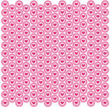 polka dot wrapping paper target heart target background stock illustration illustration of parede