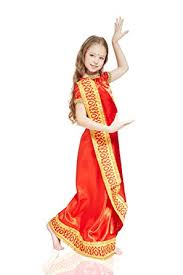 Halloween Costumes Kids Girls Amazon Kids Girls Bollywood Halloween Costume Hindu Goddess
