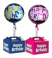 birthday balloons in a box birthday balloons in a box delivery ireland