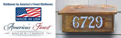 Rustic Iron Mail Slot Outdoor - mission craftsman style mailboxes oak park home u0026 hardware
