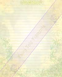 writing stationery paper yellow stationery floral paper yellow flowers paper nature this is a digital file