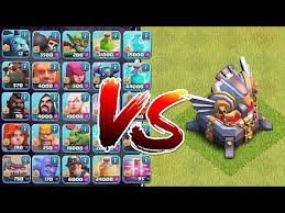 clash of clans all troops clash of clans all troops in the game vs th11 noahs ark