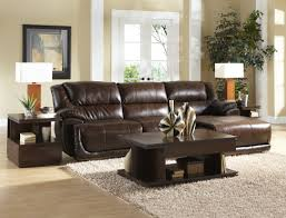 Leather Sofa With Chaise Lounge by Curved Black Leather Chaise Lounge Sofa With Black Cushions And