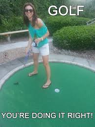 Funny Golf Meme - i m starting to notice a theme here blog your wine
