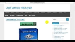 format factory online en español format factory 4 1 0 crack full version serial key windows youtube