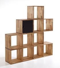 Cube Room Divider - maximo solid oak 4 cube tall multi purpose room divider