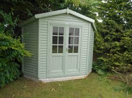 Garden Summer Houses Corner - apex corner chalet corner summerhouses cheshire