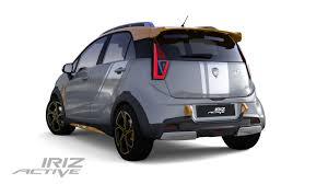kereta mewah proton persembahkan model prototaip iriz active u2013 geartinggi com
