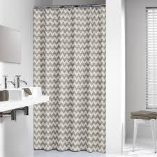 72 X 78 Fabric Shower Curtain Shower Curtain 72 X 78 Inch Sealskin Chevron Beige Fabric